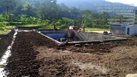 Pembangunan Destinasi Wisata Kolam Renang
